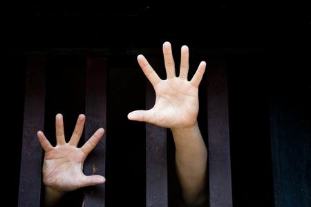 cellule de prison: Liberté Banque d'images