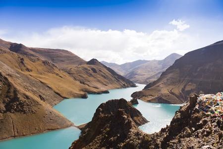 Mountain and lake Stock Photo - 12232203