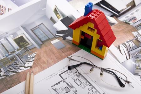 Home Improvement plan  Stock Photo - 12232211