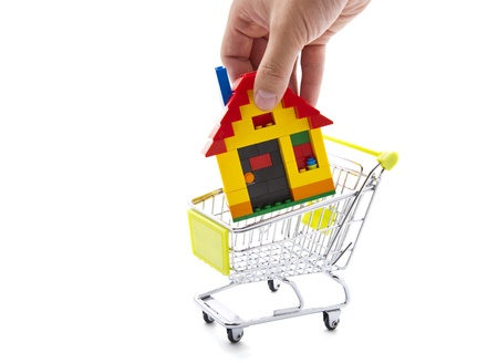 Buying a house Stock Photo - 12359117