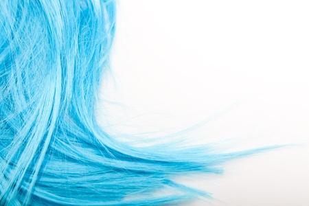 artificial hair: artificial hair Stock Photo