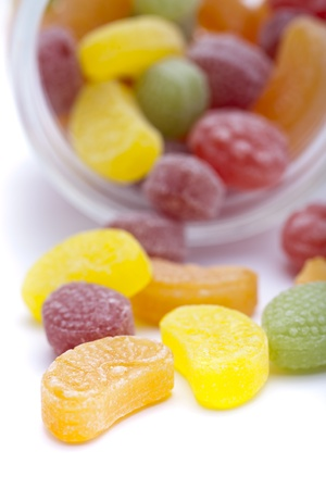 sours: Colorful fruit sugar Stock Photo