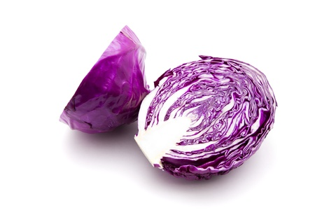 red cabbage: Purple cabbage