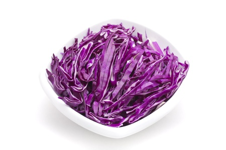 comestible: Red cabbage Stock Photo