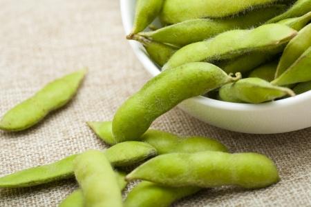 pod: Soybean