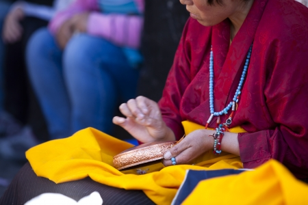 Tibet prayer photo