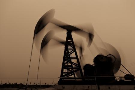 Working oil pump jacks photo