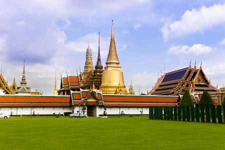 grand palace: Famous Bangkok royal palace, Thailand.