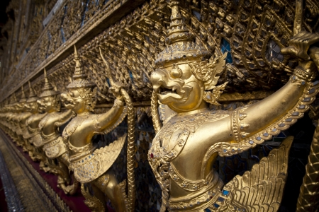 Wat Phra Keo at Grand Palace, Bangkok photo