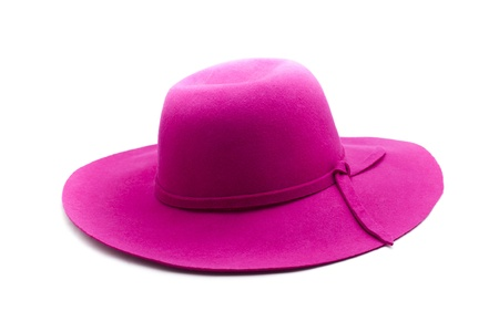 pink hat: pink hat  Stock Photo