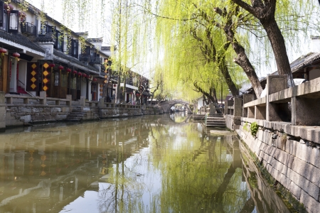 Chinese water town - Zhouzhuang photo