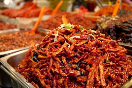 side salad: Spicy Korean Kimchee