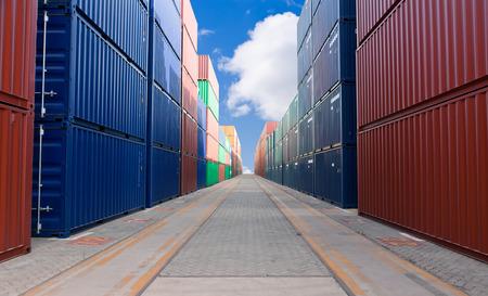 cargo container: cargo containers