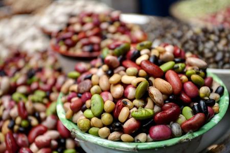 豆、レンズ豆のグループ