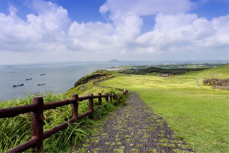 韓国の済州島の風景