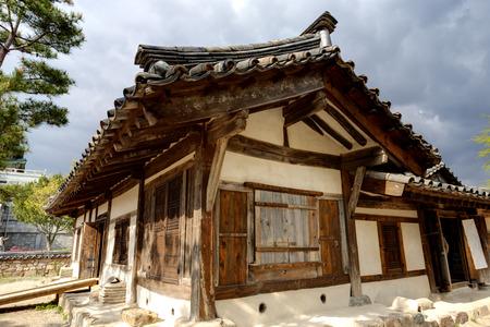 folk village: Traditional Korean House , South Korea