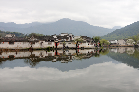 Ancient Chinese village in south China, hongcun