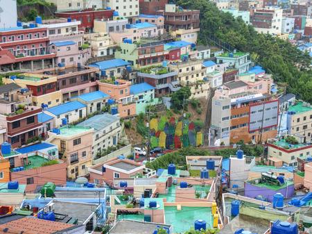 cultures: Famous Gamcheon Culture Village, Busan, South Korea.