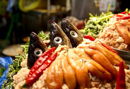 Traditional Korean cuisine fish hot pot