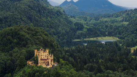 ludwig: Hohenschwangau Castle, Bavaria, Germany Editorial