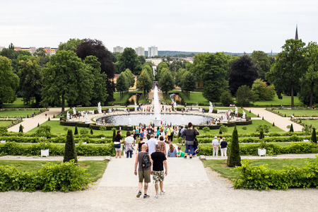 garten: Gardens of Palace of Frederick the Great, King of Prussia, in Potsdam, near Berlin