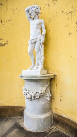 Statue in Sans Souci, Potsdam near Berlin, Germany