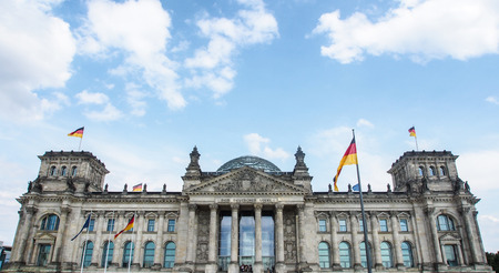 The Reichstag in Berlin, Germany