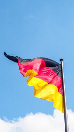 germany flag: Bandiera Germania