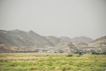 Small town in Mecca, Saudi  Arabia Stock Photo