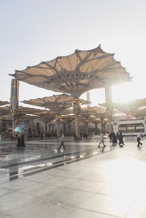 Masjid Nabawi in Madinah, Saudi Arabia