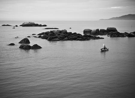 Fisherman in Cherating, Malaysia