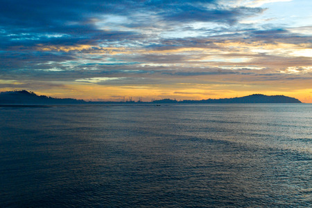 Sunrise in Cherating, Malaysia