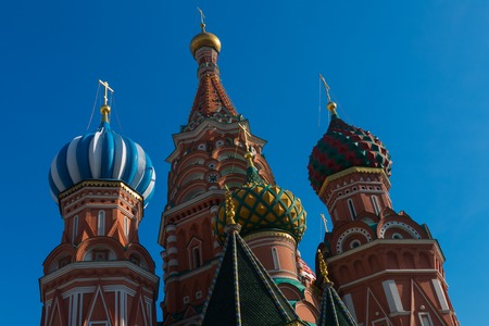 st basil s cathedral: Statue of Kuzma Minin and Dmitry Pozharsky with Saint Basils Cathedral on the background
