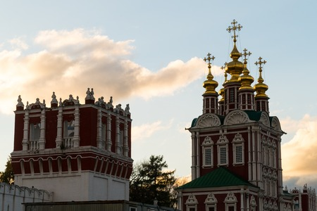palate: Novodevichy Convent tower 2016 Moscow