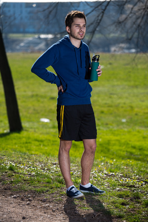Jogger in the Park