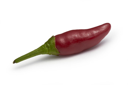 hot peppers: Red Hot Peppers Stock Photo