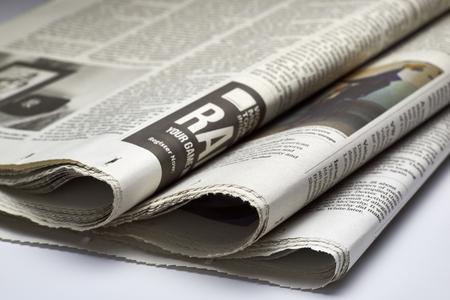broadsheet newspaper: Close up of Newspapers