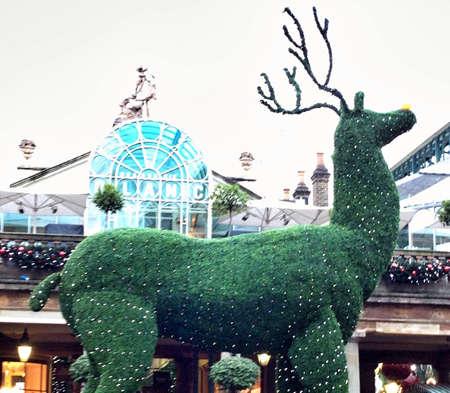 Covent garden Christmas reindeer decoration