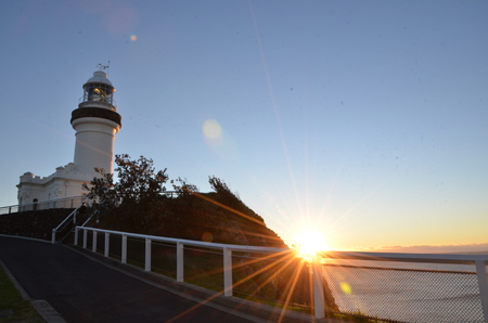 byron: Sunrise Byron Bay Lighthouse