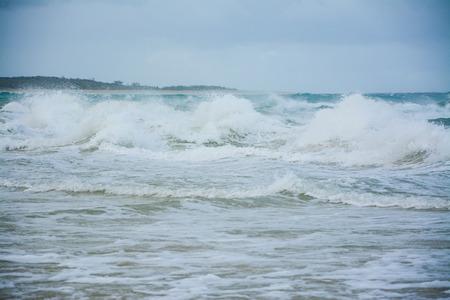 seas: Stormy seas