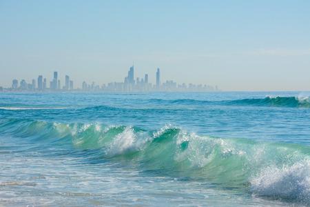 surfers: Surfers Paradise Skyline Stock Photo