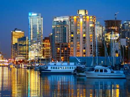 City of Vancouver, home of the 2010 Winter Olympics Stock Photo - 2533440