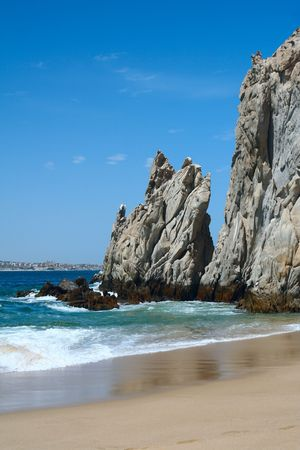 lucas: Beautiful beach, Mexico