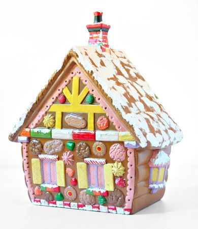 gingerbread cookies: Christmas gingerbread house.