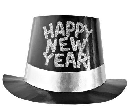 top: happy new year hat