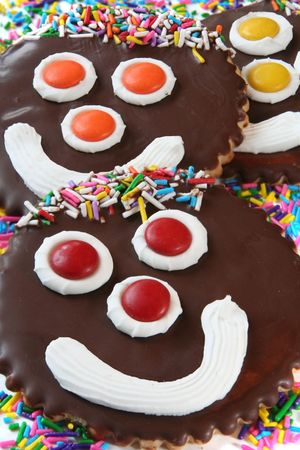 Happy face cookies Stock Photo - 3199345