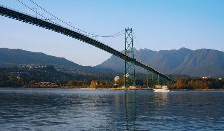 port stanley: Lions gate bridge, Vancouver, B.C.