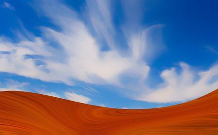 Sand and sky abstract.