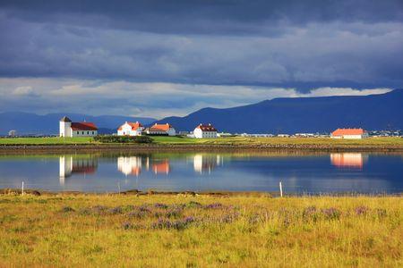 Beautiful landscape, Iceland.