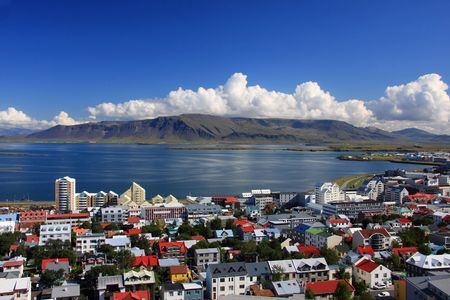 reykjavik: Downtown Reykjavik, Iceland